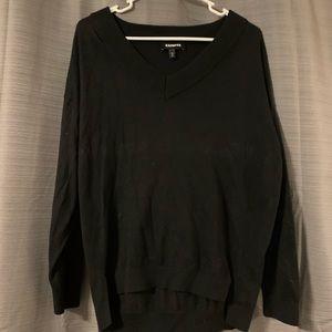 Express Womens V Neck Sweater